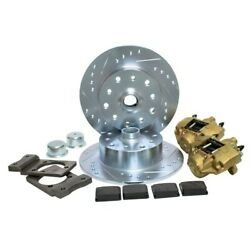 Disc Brake Kit 5 On 4-3/4 Chevy For Ball Joint 68-79 Vented Dunebuggy And Vw