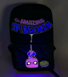 Funko Marvel Black Light Backpack Target Exclusive Spider Man NEW *SOLD OUT* $29.99