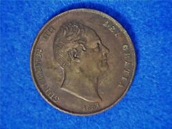 1831 Great Britain Penny King William Iv - Copper - Circulated