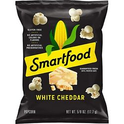 Smartfood White Cheddar Flavored Popcorn, 0.625 Ounce Pack Of 40