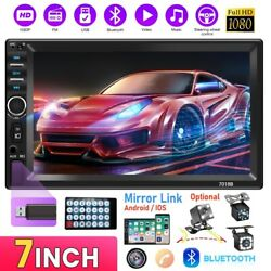 7 Inch Car Stereo Radio Hd Mp5 Player Touch Screen Bluetooth Radio 2dinandcamera