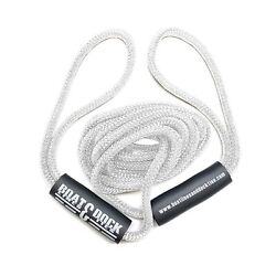 Boat Throw Rope- Double Braided Nylon Rope, Stitched Loops And Floats By Boat...