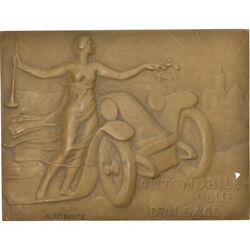 [5384] France Medal Automobile Club Dand039alsace Courses Sports And Leisure