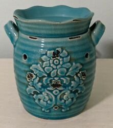 Scentsy Full Size Warmer Rustic Bloom RETIRED