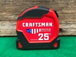 Craftsman 25ft Tape Measure Cmht37525 Made In Usa