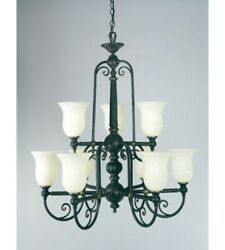 Quoizel Isabella Is5009ib Imperial Oil-rubbed Bronze 9-light Chandelier
