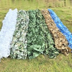 Camouflage Nets Camo Shade Tent Outdoor Shelter Netting Car Cover Free Shipping