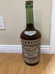 Hennessy Cognac Giant Display Bottle Rare 20and039and039 Tall
