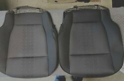 2015-2020 Ford F-150 2 Seat Bottom Skin Cloth Factory Oem Black New Bottom Only