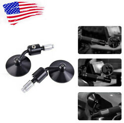 Rearview Side Mirrors 7/8 Bar End Under Over Handle Bar Fit Most Motorcycle