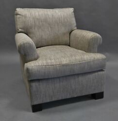 Lounge Chair Upholstered In Colfax And Fowler Fabric