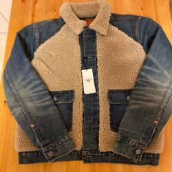 Rrl Grizzly Jacket Size M Outer Long Sleeves