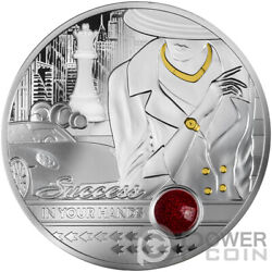 Success In Your Hands Ruby Edition 1 Oz Silver Coin 1000 Francs Cameroon 2021