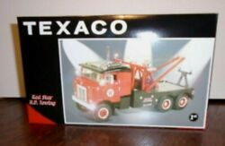 New First Gear Texaco Red Star 1953 Kenworth Bull-nose Tow Truck Wrecker 19-2514