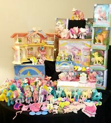 My Little Pony Vintage 80and039s Mix Mlp Rare Figurine Toys Accessories Lot ❤