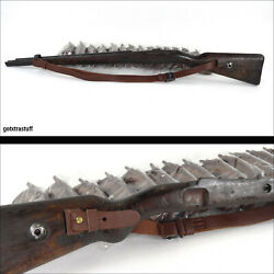 Sling For Wwii K98 German Mauser Yugo M48 And M24 Rifles. Brown. Reproduction