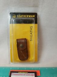 Leatherman Heritage Leather Snap Sheath Brown Extra Small For Micra Tool NEW USA $13.45