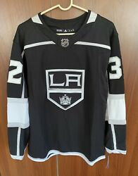 Adidas Authentic La Kings Jonathan Quick Home Jersey Size Small 46