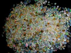 100 Natural Ethiopian Welo Fire Opal Rough 2500 Ct Undril Loose Beads Lot