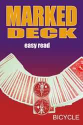 Mak Magic Marked Deck Easy Read Red Bicycle Playing Cards Hustler Shark