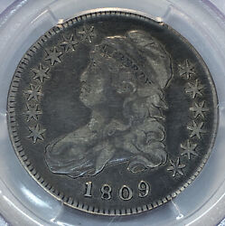1809 Capped Bust Half Dollar Pcgs Vf 25 Cac