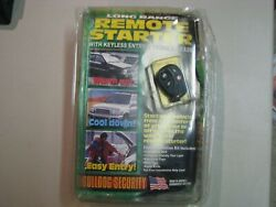 OPEN BOX Bulldog Security Remote Starter Keyless Entry RS700. NEW.