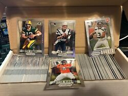2012 Panini Prizm Football Complete Set 1-300 Russell Wilson Rc And Tom Brady