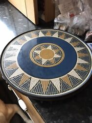 Denby Boston Spa Chop Plate 12 Inches Discontinued