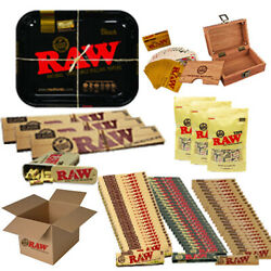 Raw Fantastic Tobacco Box Cards Tips Casetray Paper Case Rolling Booklets