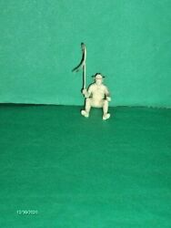 WAGON DRIVER CREAM COLOR MARX VINTAGE FROM WAGON TRAINFORT APACHE EXCELLENT