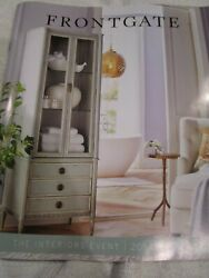 Frontgate Front Gate Catalog Look Book January 2021 The Interiors Event New