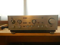 Luxman L-550 Stereo Integrated Amplifier Ac100v Equalizer Used F/s Fedex Rsmi