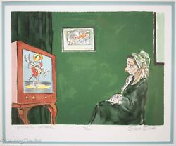 Chuch Jones Signed Lithograph Whiskers Mother Master Series 1991 Pristine