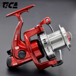 Tica Wily Long Casting Beach Saltwater Fishing Reel 17lbs Max Drag Spinning Reel