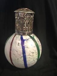Catalytic Oil Effusion Fragrance Lamp Swirled Glass