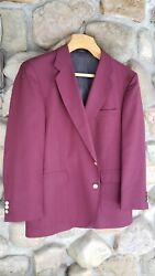 David Taylor Masters Golf Sport Jacket Gold Button Size 46r