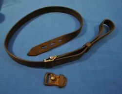 Original Wwii German K98 Mauser Rifle Sling-mfg. Marked And 1937 Dated
