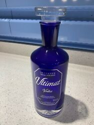 Ultimat Vodka Bottle - Empty 750ml - Made In Poland - By Patron