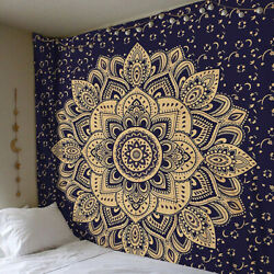 Indian Hippie Mandala Bohemian Wall Hanging Tapestry Throw Boho Twin Bedspread