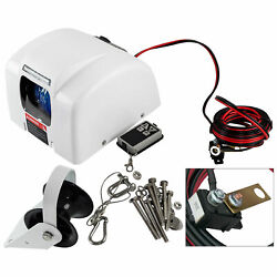 12v Boat Marine Electric Anchor Winch With Wireless Remote 25 Lbs