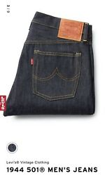 Levi's Vintage Clothing 1944 501 Jeans Perfect Imperfections Collection. 31/34
