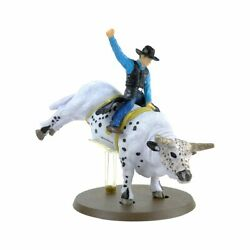 1/20th Pbr Smooth Operator Bucking Bull With Rider Rodeo Big Country Toys 442