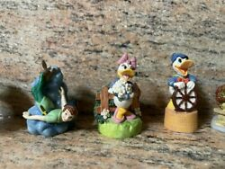 Lot Of 8 Collectible Disney Lenox Thimbles W/ Free Shipping