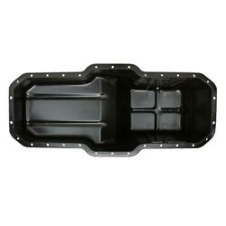 Rear Sump Engine Oil Pan Is Made Of Steel, Finished In Black, Fits Mack E6 Engin
