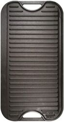 Lodge Pre-seasoned Cast Iron Reversible Grill/griddle 20 Inch X 10.5 Inch