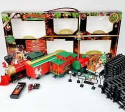 Eztec North Pole Express Remote Control, Animated And Musical Christmas Train Set