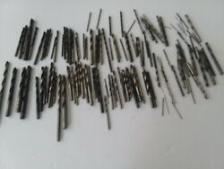 K-52 Pre-owned Assortment Of Drill Bits Many Sizes Well Over 100