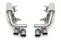 Fabspeed 991 Carrera 3.4l Maxflo Side Exhaust Polished Tips Non-pse