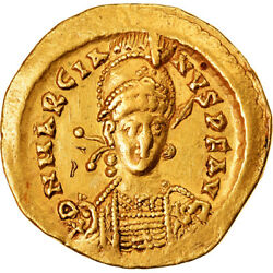 [905519] Coin Marcian Solidus 450-457 Constantinople Au50-53 Gold