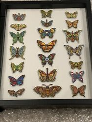 Emek Grateful Dead Butterfly Dead And Company Pin Set Art Ed.150 Sold Out Vip Tour